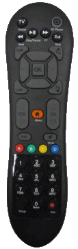 Pace DC60Xu HD DTA Remote Control