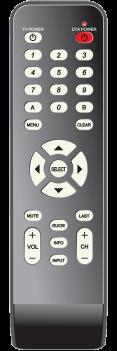 Technicolor HD DTA Remote Control