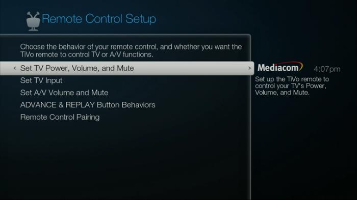 TiVo Remote Control